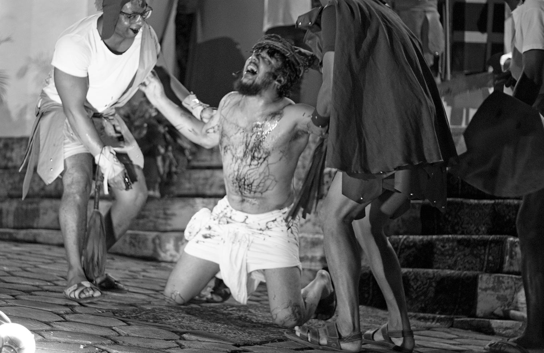 Encenação da Paixão de Cristo em Caetité