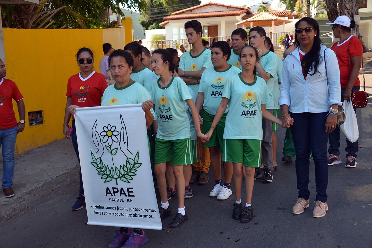 3ª Caminhada para Conscientização do Autismo em Caetité