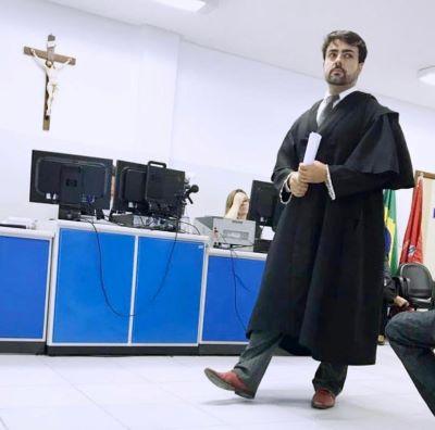 O advogado Lúcio José Alves Júnior  - Foto: Reprodução