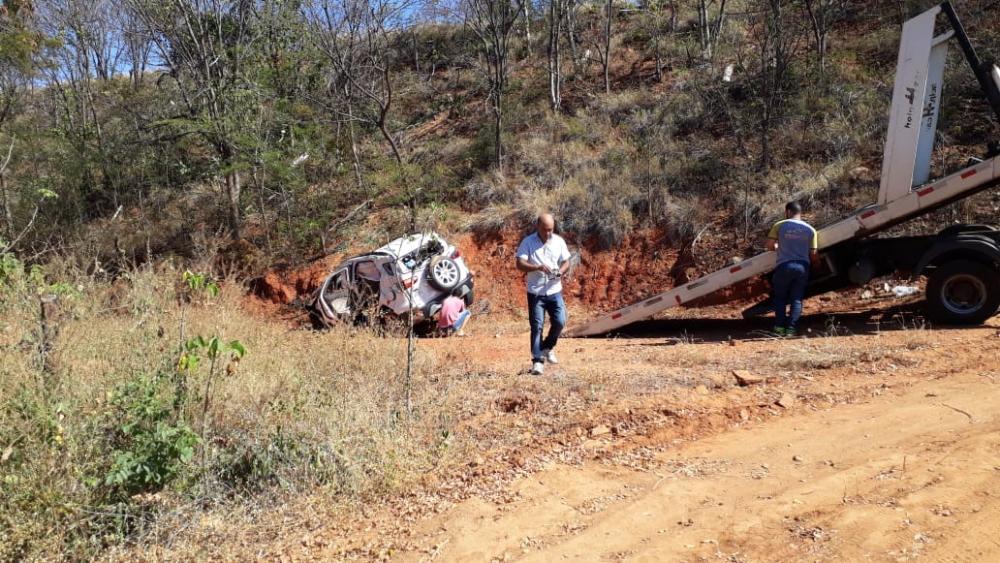 Guanambi: Empresário do ramo farmacêutico sofre acidente na BR 122