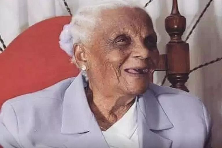 Com muita força e vitalidade, idosa natural de Rio de Contas completa 107 anos