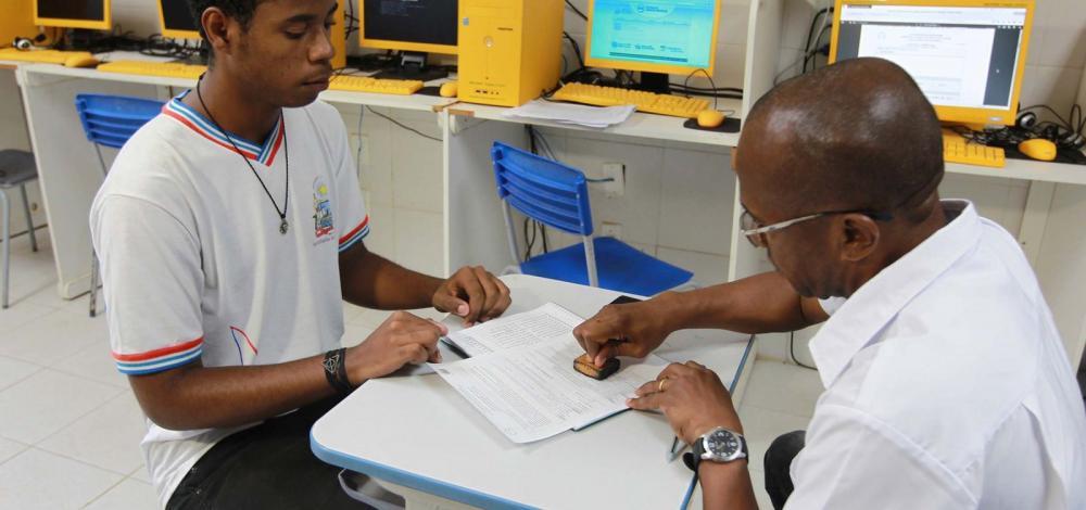 Matrículas na rede estadual de ensino começam hoje
