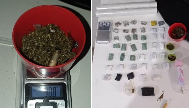 Jovem é preso com droga nas imediações de parque municipal, na cidade de Guanambi