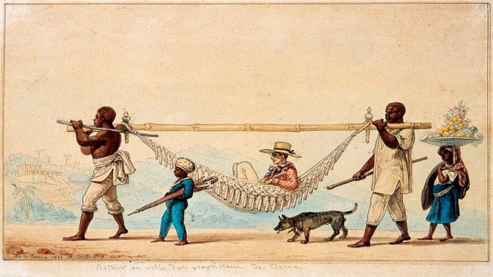 Ilustração de Jean-Baptiste Debret mostra lugares do branco e do negro no Brasil do século 19