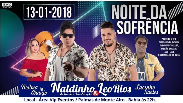 Palmas de Monte Alto: Dupla Naldinho & Léo Rios é confirmada para 13 de janeiro na 1ª 'Noite da Sofrência'