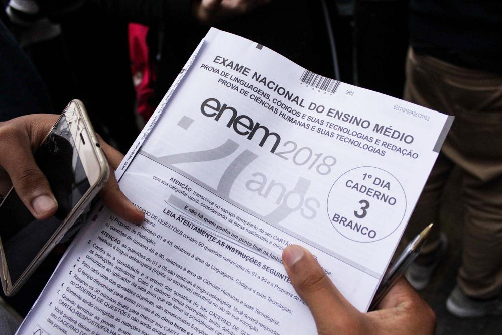 Inep divulga gabaritos oficiais do Enem