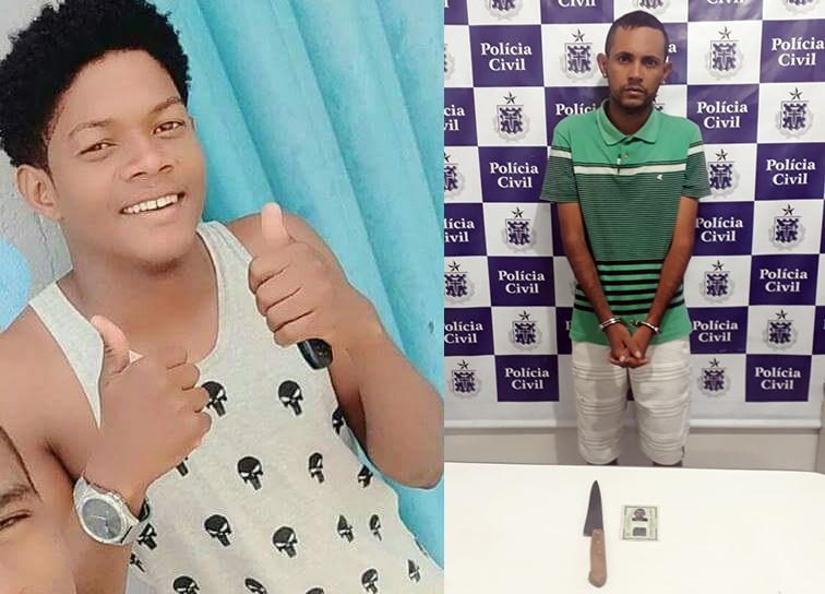 Vítima e acusado - Foto: Leitor Sudoeste Bahia | Via WhatsApp