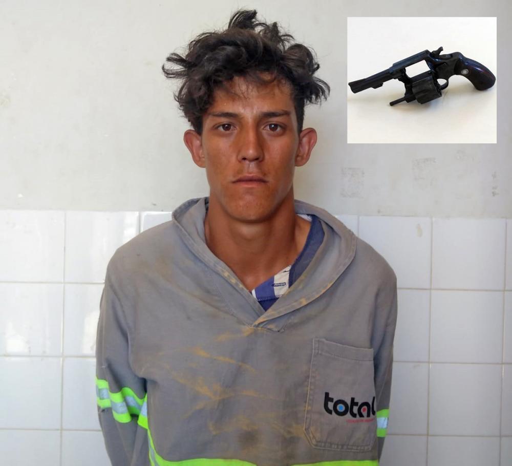 Paramirim: Polícia Civil prende homem que teria matado mulher no Povoado de Riachão