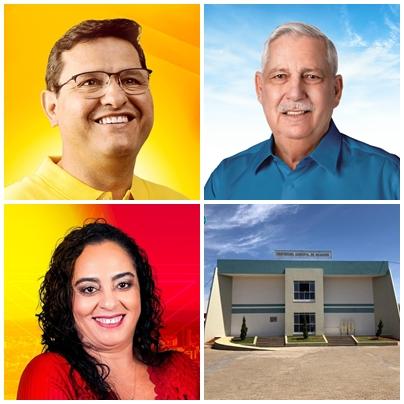 Fotomontagem: Willian Silva - página dos candidatos