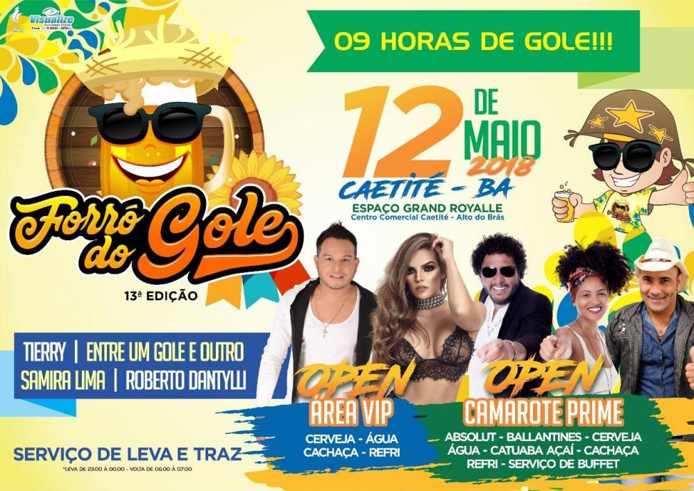 Mix Eventos inicia venda de ingressos para a 13ª edição do Forró do Gole em Caetité