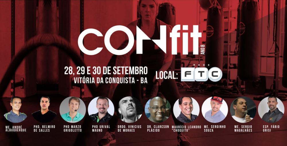 Sudoeste baiano: Vem ai o 8º Confit – O maior evento fitness da Bahia