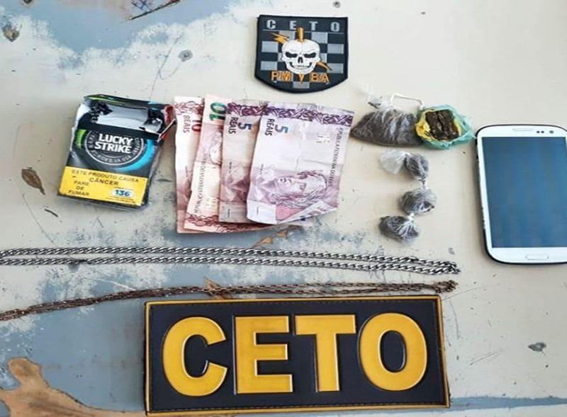 Mulher é presa por tráfico de drogas no bairro São José em Guanambi