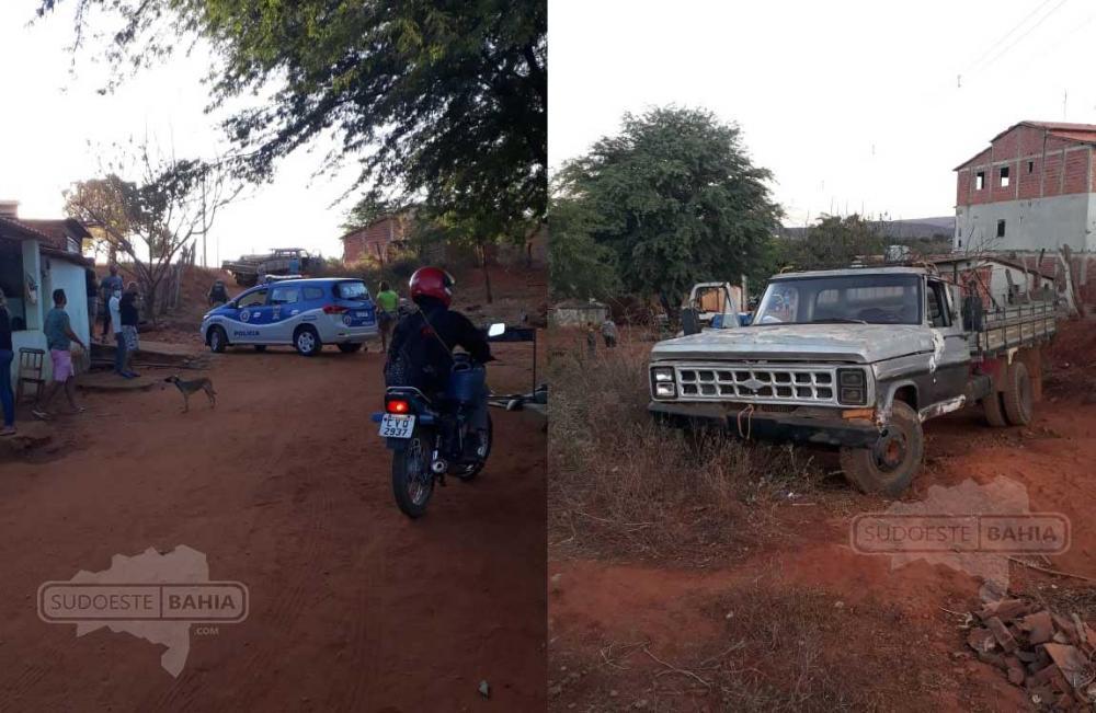 Homem morre atropelado pelo próprio caminhão na zona rural de Ibiassucê