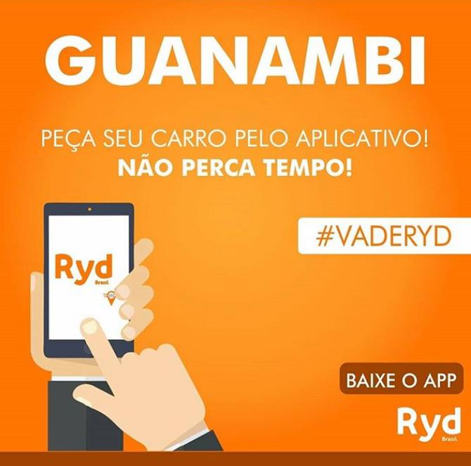 Aplicativo de transporte similar ao Uber entrará em operação em Guanambi