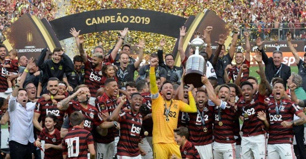 Flamengo sagra-se campeão do Brasileirão 2019