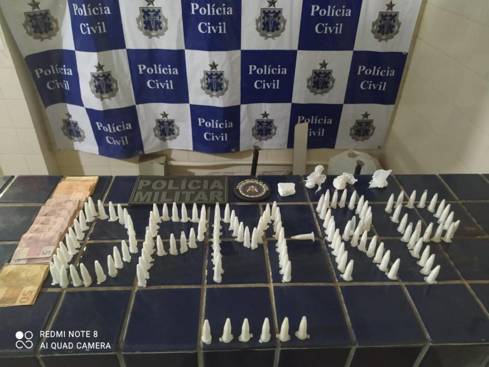 Homem é preso por tráfico de drogas em Rio do Pires