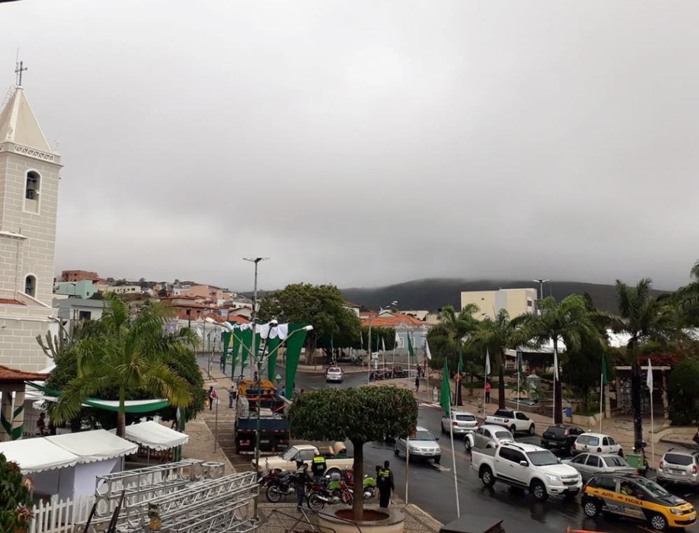 Caetité: temperaturas caem durante a Festa de Santana