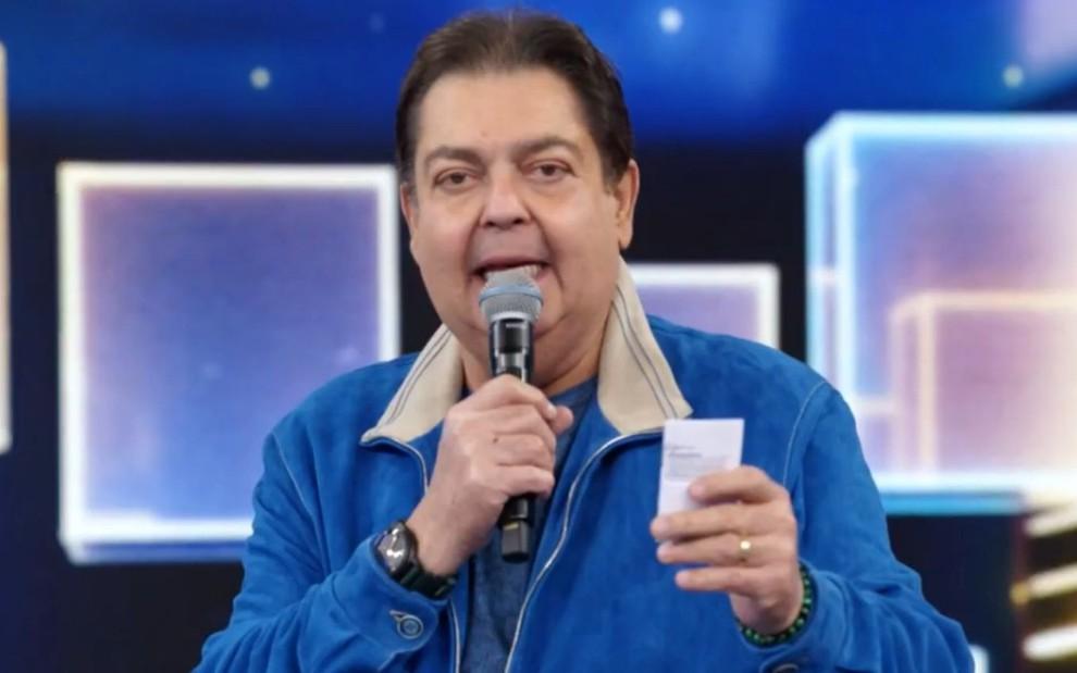 Fausto Silva, o 'Faustão', deixará a Globo em dezembro