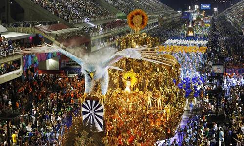 Portela é a campeã do carnaval do Rio em 2017
